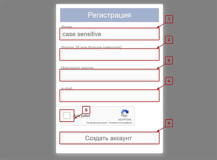 Sms-reg регистрация 2